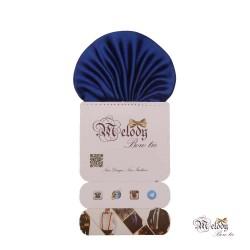 دستمال جیبی سری کلاسیک (آبی براق)