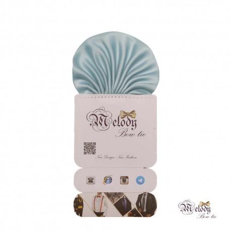 دستمال جیبی سری کلاسیک (آبی آسمانی مات)