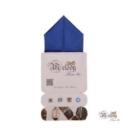 دستمال جیبی سری پیرامید (آبی براق)