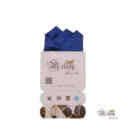 دستمال جیبی سری رنگین کمان (آبی براق)