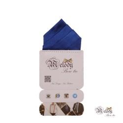 دستمال جیبی سری مونتانا (آبی براق)