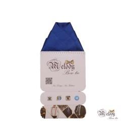 دستمال جیبی سری ولکانو (آبی براق)