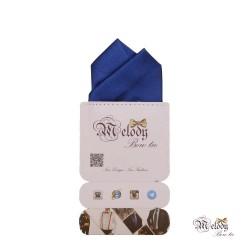 دستمال جیبی سری آنیدا (آبی براق)