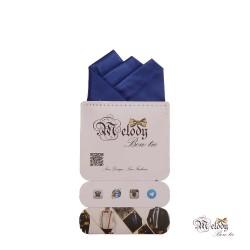 دستمال جیبی سری رنگین کمان (آبی مات)