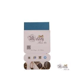 دستمال جیبی سری سنسیلو (آبی درباری براق)