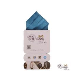 دستمال جیبی سری مونتانا (آبی درباری براق)