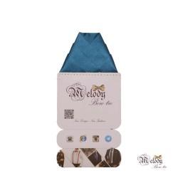 دستمال جیبی سری ولکانو (آبی درباری براق)
