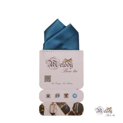 دستمال جیبی سری آنیدا (آبی درباری براق)