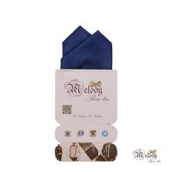 دستمال جیبی سری آنیدا (آبی نفتی براق)