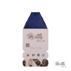 دستمال جیبی سری ولکانو (آبی نفتی براق)