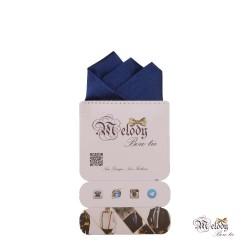 دستمال جیبی سری رنگین کمان (آبی نفتی براق)