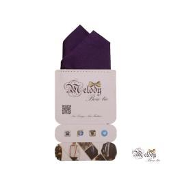 دستمال جیبی سری آنیدا (بنفش براق)