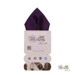 دستمال جیبی سری تربلی (بنفش براق)