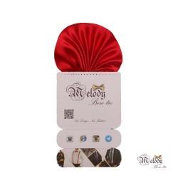 دستمال جیبی سری کلاسیک (قرمز براق)
