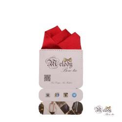 دستمال جیبی سری رنگین کمان (قرمز براق)