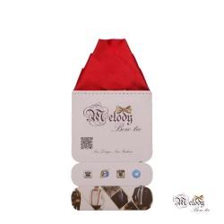 دستمال جیبی سری ولکانو (قرمز براق)