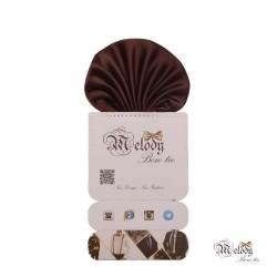 دستمال جیبی سری کلاسیک (قهوه ای مات)