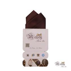 دستمال جیبی سری آنیدا (قهوه ای مات)