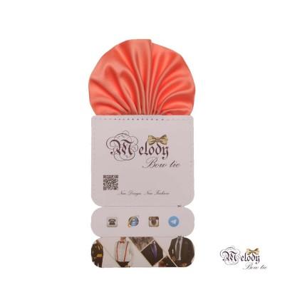 دستمال جیبی سری کلاسیک (گل بهی روشن مات)