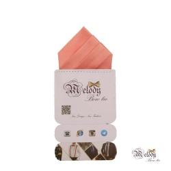 دستمال جیبی سری مونتانا (گل بهی روشن مات)