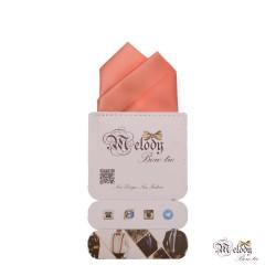 دستمال جیبی سری آنیدا (گل بهی روشن مات)