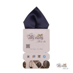 دستمال جیبی سری تربلی (سرمه ای مات)