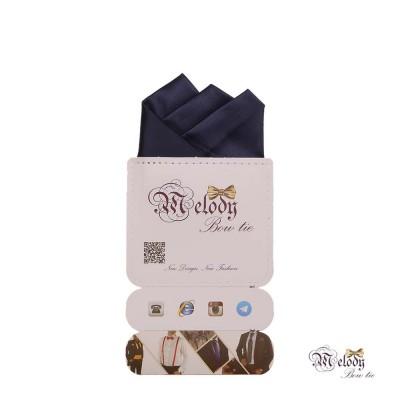 دستمال جیبی سری رنگین کمان (سرمه ای مات)