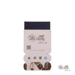 دستمال جیبی سری سنسیلو (سرمه ای مات)