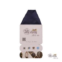 دستمال جیبی سری ولکانو (سرمه ای مات)