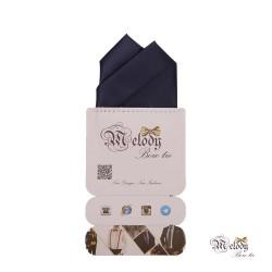 دستمال جیبی سری آنیدا (سرمه ای مات)