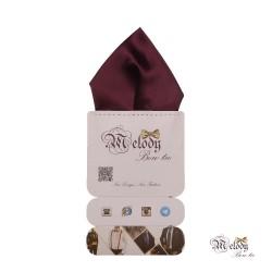 دستمال جیبی سری تربلی (بنفش تیره مات)