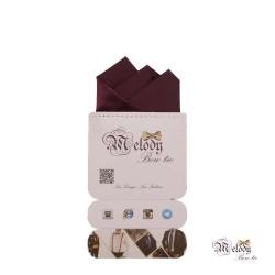 دستمال جیبی سری رنگین کمان (بنفش تیره مات)