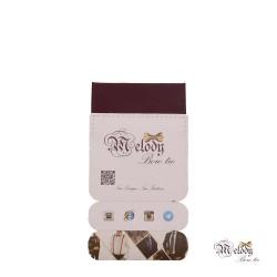 دستمال جیبی سری سنسیلو (بنفش تیره مات)