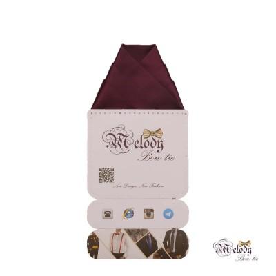 دستمال جیبی سری ولکانو (بنفش تیره مات)
