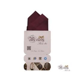 دستمال جیبی سری آنیدا (بنفش تیره مات)
