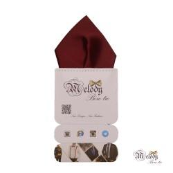 دستمال جیبی سری تربلی (زرشکی مات)