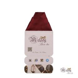 دستمال جیبی سری ولکانو (زرشکی مات)