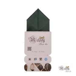 دستمال جیبی سری پیرامید (سبز مات)
