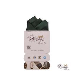 دستمال جیبی سری رنگین کمان (سبز مات)
