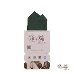 دستمال جیبی سری آنیدا (سبز مات)