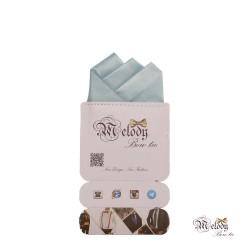 دستمال جیبی سری رنگین کمان (آبی آسمانی مات)
