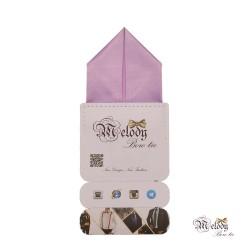 دستمال جیبی سری پیرامید (یاسی مات)