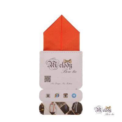 دستمال جیبی سری پیرامید (نارنجی مات)