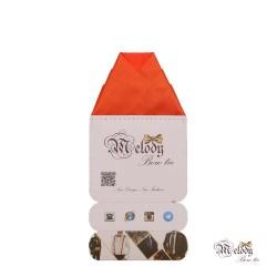 دستمال جیبی سری ولکانو (نارنجی مات)