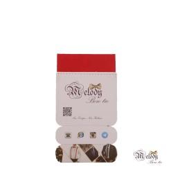 دستمال جیبی سری سنسیلو (قرمز مات)