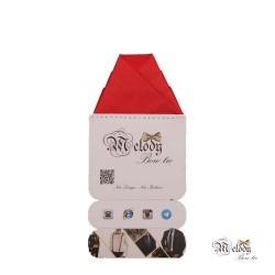 دستمال جیبی سری ولکانو (قرمز مات)