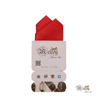 دستمال جیبی سری آنیدا (قرمز مات)