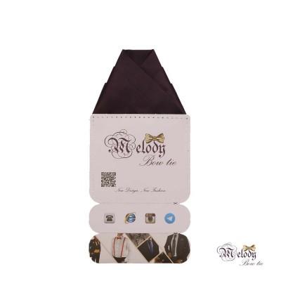دستمال جیبی سری ولکانو (بادمجانی مات)