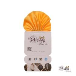 دستمال جیبی سری کلاسیک (زرد مات)