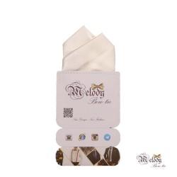 دستمال جیبی سری آنیدا (سفید براق)